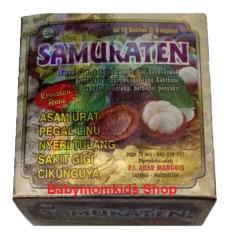 Beli Herbal Asam Urat Samuraten 1 Box 10 Sachet 40 Kapsul Murah