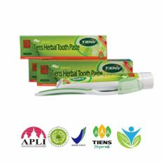 Jual Herbal Tooth Paste Tiens Internasional Grosir
