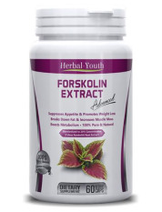 Diskon Herbal Youth Forskolin Extract Standardized 20 60 Kapsul Herbal Youth Di Riau Islands