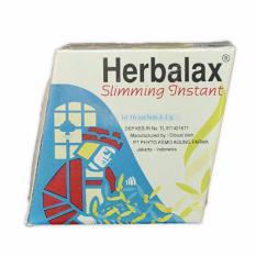 Herbalax Jamu Pelangsing Slimming Instant