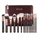 Jual Hetu Zovea 15 Pcs Rose Golden Lengkap Makeup Brush Set With Tas Gratis Antik