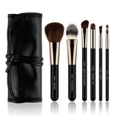 HFUN Makeup Brushes Set Powder Brush Foundation Blush Bagus untuk Bepergian Alis Brush Contour Kuas Bibir Kuas Bibir dengan Kosmetik. INTL