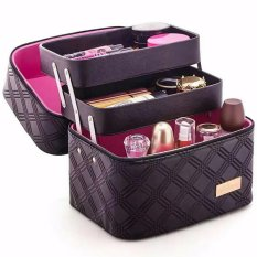 HG Cosmetic Storage 2 Layer - Black