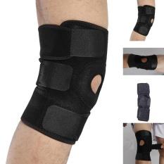 Diskon Hinged Knee Support Adjustable Strap Neoprene Pereda Nyeri Brace Nhs Intl Akhir Tahun