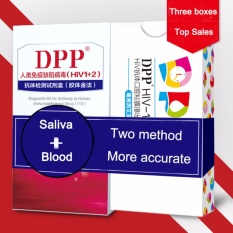 Jual Hiv Test Kit Hiv 2 Pcs Testing 1 Saliva Test 99 Accuracy Intl Grosir