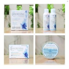 HN Crystal Body Lotion 4 in 1  Pemutih Badan Alami Original