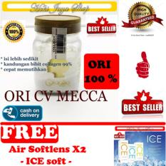 HOKI COD - Bibit Collagen Original CV. MECCA ANUGRAH - BITCOL Bibit Colagen Tutup Gold + Gratis Cairan Air Soflens / Air Pembersih Softlens X2 ICE Solution 60ml / 60 ml - Air Soflen