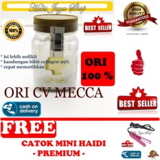 HOKI COD - Bibit Collagen Original CV. MECCA ANUGRAH - BITCOL Bibit Colagen Tutup Gold + Gratis Haidi Catok Mini Pelurus Rambut - Multi Colour - 1 Pcs