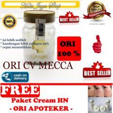 HOKI COD - Bibit Collagen Original CV. MECCA ANUGRAH - BITCOL Bibit Colagen Tutup Gold + Gratis HN Crystal Cream Original 1 Paket Isi 4 Model