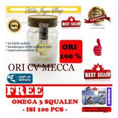 HOKI COD - Bibit Collagen Original CV. MECCA ANUGRAH - BITCOL Bibit Colagen Tutup Gold + Gratis Minyak Ikan Squalen Salmon Omega 3, 6 & 9 Original Quality - 100 capsule