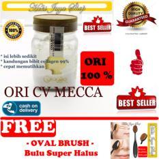 HOKI COD - Bibit Collagen Original CV. MECCA ANUGRAH - BITCOL Bibit Colagen Tutup Gold + Gratis Oval Brush Bulu Super Halus - 1 Pcs