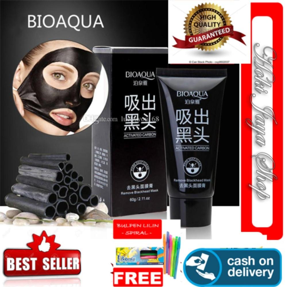 Penawaran Promo Wardah Lightening Face Mask Facial Mengangkat Komedo Dengan Ampuh Hoki Cod Bioaqua Masker Charcoal Black Wajah Arang Aktif Alami Original Pengangkat