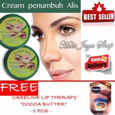 HOKI COD - Cream Alis New Original Premium - Penumbuh Dan Penebal Alis - 1 Pcs FREE Vaseline Lip Cocoa Butter - 1 Pcs