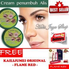 Jual Hoki Cod Cream Alis New Original Premium Penumbuh Dan Penebal Alis 1 Pcs Gratis Kailijumei Lipstick Floral Jelly Lipstik Flame Red Premium Class 1 Pcs Hoki Online