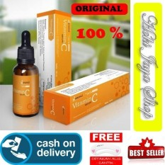 HOKI COD - Hanasui Serum Vitamin C + Collagen By Jaya Mandiri BPOM Serum Vit C Orange - 1 Pcs + Gratis Cetak Alis Cantik - Premium