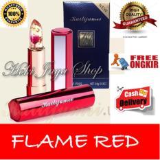 Harga Hoki Cod Kailijumei Lipstick Floral Jelly Lipstik Flame Red Premium Vip Class 1 Pcs Original Ada Barcodenya Terbaik