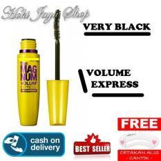 HOKI COD – Mascara The Fals Lash Volume Express – Maskara Waterproof – Model KUNING Warna Hitam Premium Quality Top – 1 Pcs + Gratis Cetak Alis Cantik – ...