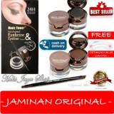 Beli Hoki Cod Music Flower 24Hour Waterproof 2In1 Eyebrow Eyeliner Original Premium 1 Pcs Gratis Cetak Alis Cantik Premium Online Terpercaya