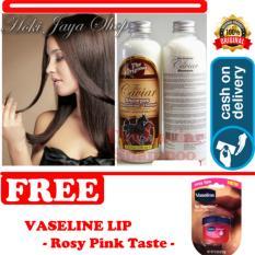 HOKI COD - Shampo Caviar - Shampo Kuda Sudah BPOM - 250 mL + Gratis Vaseline lip Rosy pink Premium - 1 Pcs