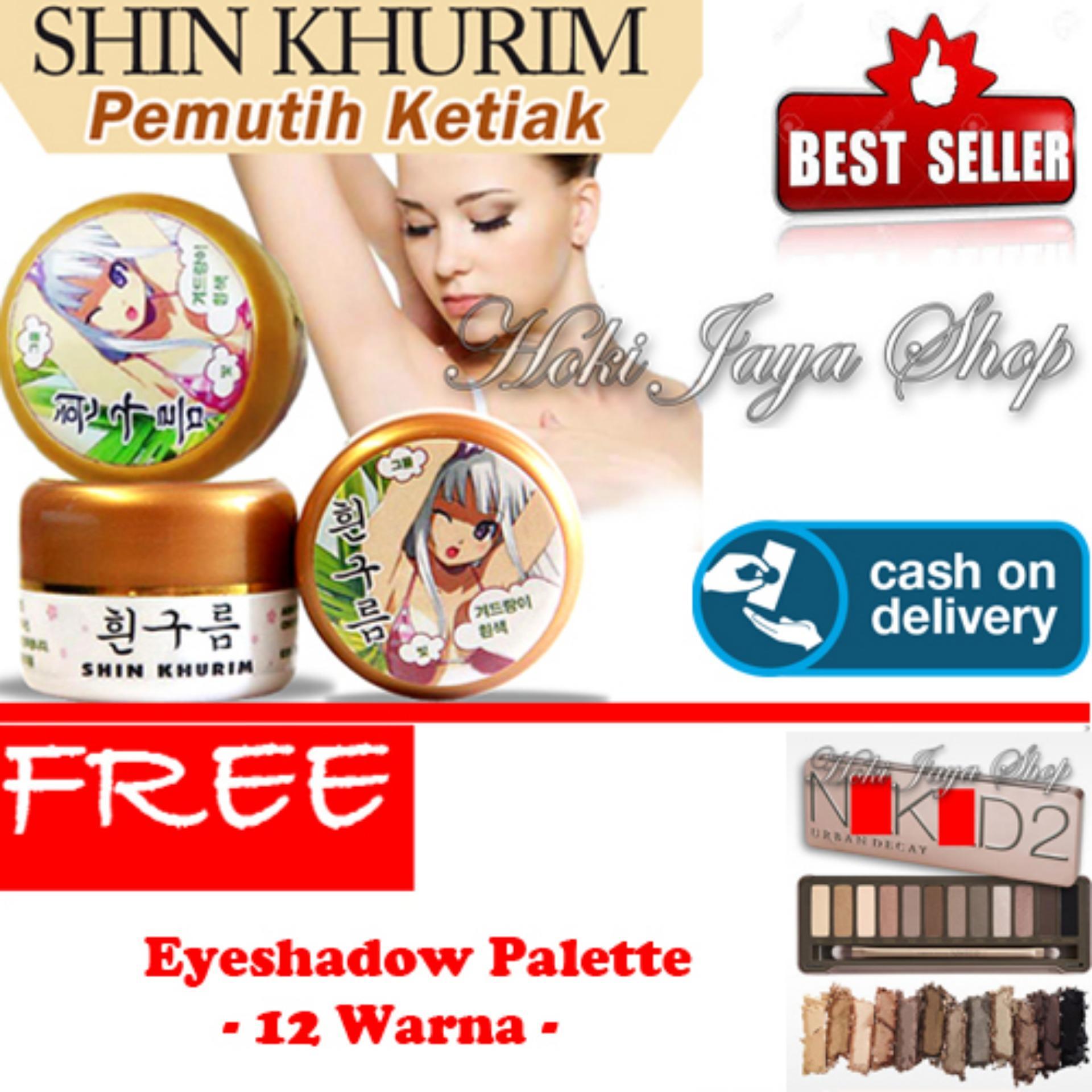 HOKI COD Shin Khurim Pemutih Ketiak dan Selangkangan Premium 1 Pcs Gratis Eyeshadow