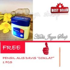HOKI COD- Vaseline 60ml Petroleum Jelly Asli Murni 100{55e037da9a70d2f692182bf73e9ad7c46940d20c7297ef2687c837f7bdb7b002} Original Arab - 1 Pcs FREE 1 Pensil Alis Davis - 1 Pcs