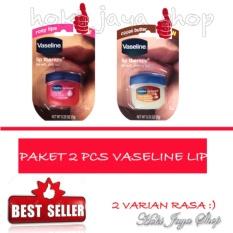 HOKI COD - Vaseline Lip Therapy Rosy Lips Therapy Premium - 1 Pcs FREE Cocoa Butter - 1 Pcs