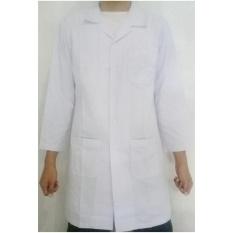 Hoki Jas Baju Jaket Laboratorium Seragam Lab Praktikum Praktek Dokter Medis - Lengan Panjang
