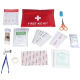 Harga Home Outdoor Travel Emergency Survival Rescue Bag Case First Aid Kit Tools Intl Di Tiongkok