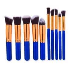 Hot Sale 10 Pcs Kosmetik Brushes Set Make Up Sikat Kecantikan Alat Foundation Brushes With Bersaing Harga-Intl