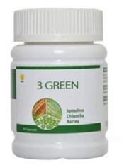 Kualitas Hwi Green Natural Superfood Asli Paket Isi 2 Botol X 60 Kapsul Hwi