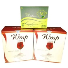 HWI WMP Slimming Juice 2box + CMP 1box  untuk Program 1 Bulan