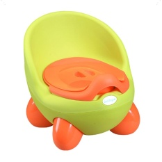 iBelieve Comfortable Portable Baby Potty Toilet Trainer Girls Seat Chair Car WC (Yellow) - intl