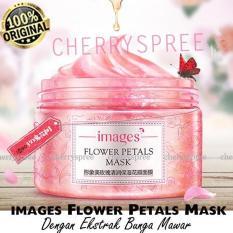 Images Flower Petals Mask Korea Masker Wajah Ekstrak Mawar Kelopak Mawar Rose Kulit Lembut Sehat Segar - 120gr