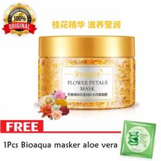 Images Flower Petals Mask Korea [Osmanthus] Original 120g + Free Boiaqua Aloe Vera Mask