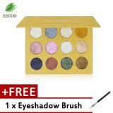 Imagic Palet Eyeshadow Glitter 12 Warna Unik Beli 1 Gratis 1 Puff Tiongkok Diskon 50