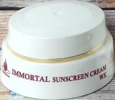 Immortal Sunscreen Cream WX Sunblock SPF 30 Dengan Pencerah 12-5 G