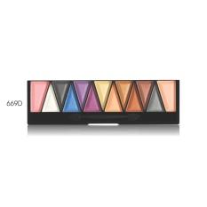 Implora 669D Make Up Set Palette Eyeshadow + Blush On - 13 Colour