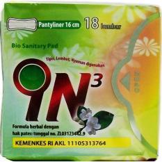 Jual In3 Bio Sanitary Pad Pantyliner 10 Bungkus Branded Murah