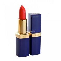 Inez Lipstick 23 Flame Red - Lipstik, Lip Sttick, Perlindungan Kulit Bibir, Warna Bibir