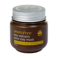 Review Terbaik Innisfree Jeju Volcanic Pore Clay Mask 100Ml