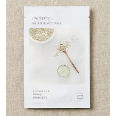 Innisfree My Real Squeeze Mask Oatmeal @20ml - 1 Pcs