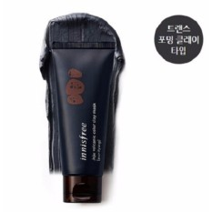 Toko Innisfree X Wanna One Jeju Volcanic Color Clay Mask 70Ml Black Purifying Dekat Sini