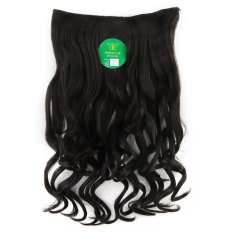 Instaclip Hairclip Curly Black 60 cm / Hair clip klip Keriting Korea Hitam Big Layer Full head