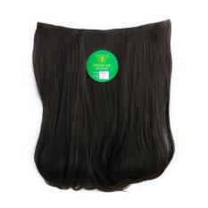 Instaclip Hairclip Short Blow 40 cm Black  / Hair clip klip Lurus Korea Hitam Big Layer Full head