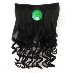 Instaclip Hairclip Short Curly Black 50 cm / Hair clip klip Keriting Korea Hitam Big Layer Full head