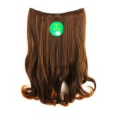Jual Instaclip Hairclip Short Wavy 50 Cm Light Brown Hair Clip Klip Lurus Korea Coklat Muda Big Layer Full Head Antik
