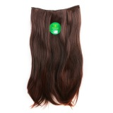 Jual Instaclip Hairclip Straight Darkbrown 60 Cm Hair Clip Klip Lurus Korea Coklat Tua Big Layer Full Head Instaclip Grosir