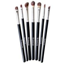[International Shipping]Makeup Eye Brush Set - Eyeshadow EyelinerBlending Crease Kit - Best Choice 7 Essential Makeup Brushes -Pencil. Shader. Tapered. Definer - Last Longer. Apply Better Makeup& Make You Look Flawless!(해외배송) - intl