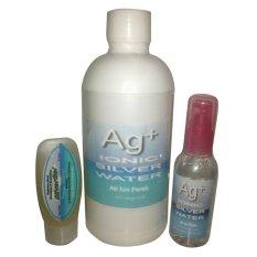 Obral Ionic Air Ion Perak Ag Ionic Silver Water Paket Mitra 3In1 Murah