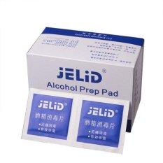 ISM 100 Pcs/box Pembungkus Preparat Steril Wipes 70% Isopropil Topikal Swabs-Internasional
